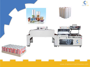 Automatic L Type Sealing And Shrinking Machine
