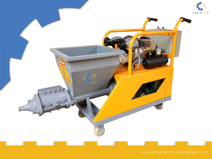 Automatic Plaster Spraying Machine